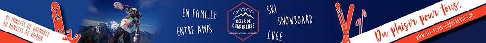 Station St-Pierre-de-Chartreuse - bannière accueil hiver 2020
